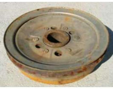 Chevy Harmonic Balancer, V8, Used, 1955-1957