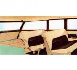 Chevy Seat Cover Set, 210 4-Door Wagon, 1955