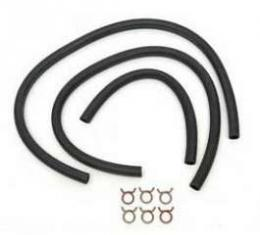 Chevy Heater Hose Kit, For Cars With Air Conditioning, Small Block, 1957
