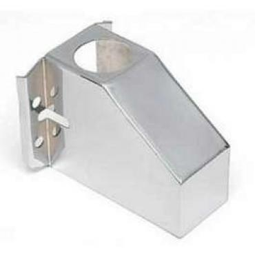 Chevy Custom Smooth Master Cylinder Cover, Chrome, 1955-1957