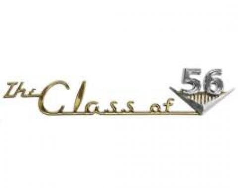 Chevy Emblem, Dash Speaker Grille, Class Of 1956