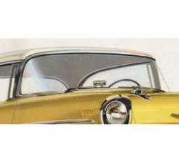 Chevy Windshield, Clear, Hardtop Or Convertible, Nomad, 1957