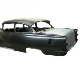 Chevy Quarter Panels, Installed On Skeleton,2 Door Sedan,1955