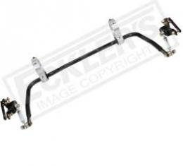 Chevy Rear Sway Bar, 1, Protouring, With Billet Aluminum Rear Brackets, 1955-1957