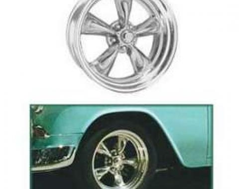 Chevy Torq-Thrust II Wheel, 14 x 6, American Racing