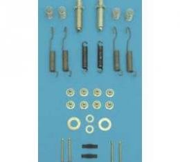 Chevy Drum Brake Adjusting Hardware Kit, Front, 1955-1957