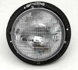 Chevy Headlight Bucket, Complete, 1955