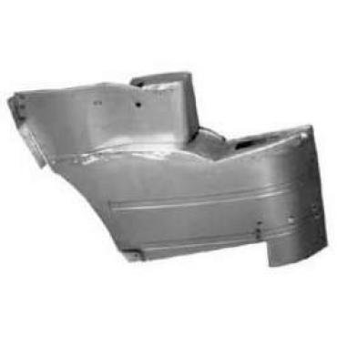 Chevy Rear Armrest Bases, Convertible, 1955
