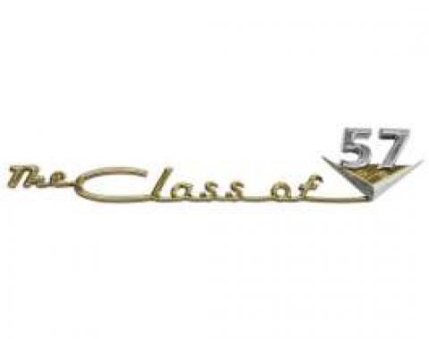 Chevy Emblem, Dash Speaker Grille, Bel Air/Nomad Class Of 1957
