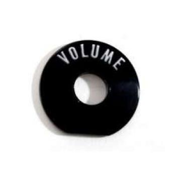 Chevy Radio Volume Bezel Insert, Plastic, 1957