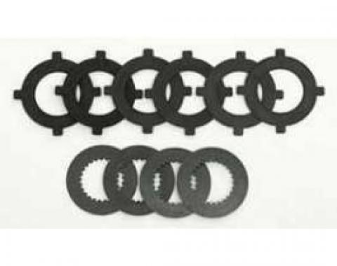 Chevy Positraction Rear End Clutch Pack Rebuild Kit, 1957