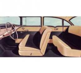 Chevy Preassembled Door & Quarter Interior Panel Kit, 150 4-Door Sedan, 1956