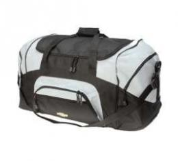 Sport Duffel Bag, Colorblock, With Bow Tie Logo