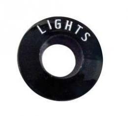 Chevy Headlights Bezel Insert, Plastic, 1957
