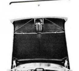 Chevy Hood Brace Rod, Right, 1955
