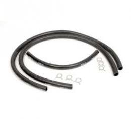 Chevy Heater Hose Kit, Factory, 6-Cylinder, 1957