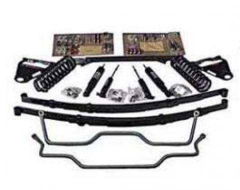 Chevy Ultimate Lowering Kit, For 1-Piece Frames, 1955-1957