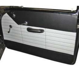 Chevy Preassembled Door & Quarter Interior Panels, 2-Door Sedan, 210 Delray, 1956
