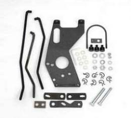 Chevy Shifter Installation Kit, Hurst Competition Plus, Saginaw 4-Speed, 1955-1957