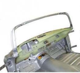Chevy Dash, Installed In Skeleton, 1957