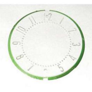 Chevy Clock Face Lens, 1955-1956