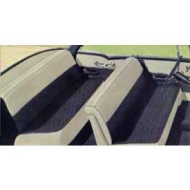 Chevy Preassembled Door & Quarter Interior Panel Kit, 210 4-Door Hardtop, 1956