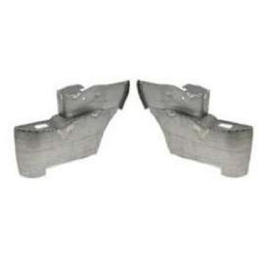 Chevy Armrest Bases, Rear, Convertible, Good Quality, 1956-1957