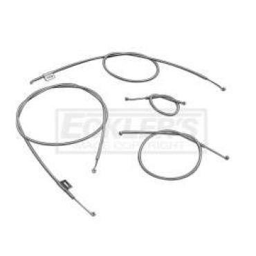 Chevy Heater Cable Set, Deluxe, 1957