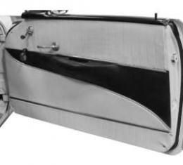 Chevy Preassembled Door & Quarter Interior Panels, 2-Door Hardtop, Bel Air, 1956