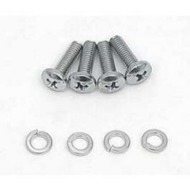 Chevy Vent Cable To Dash Screw & Washer Set, 1955-1957