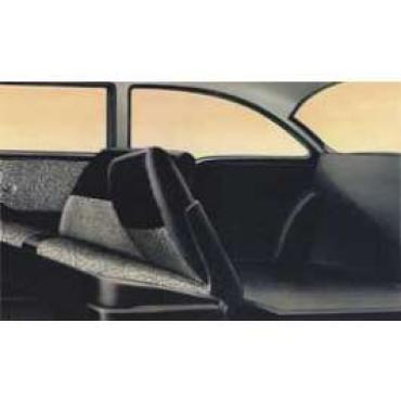 Chevy Preassembled Door & Quarter Interior Panel Kit, 2-Door 150 Utility Sedan, 1957