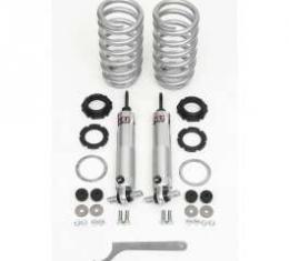 Chevy Front Coil-Over Shock Conversion Kit, Small Block, QA1, 1955-1957