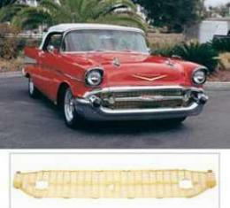 Chevy Grille, Gold, 1957