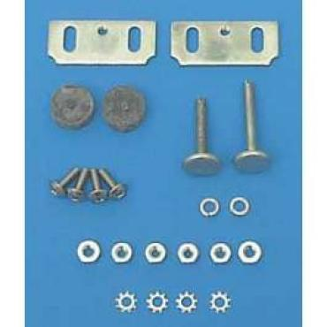 Chevy Glass Adjusting Stop Assembly, 2 & 4-Door Hardtop Or Convertible, Nomad, 1955-1957