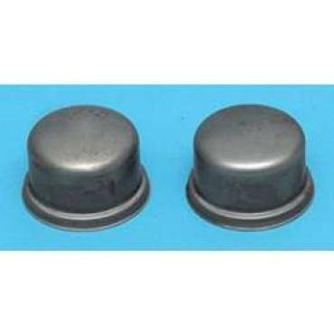 Chevy Front Hub Dust Covers, 1955