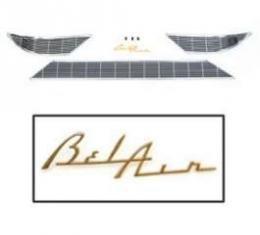 Chevy Dash Trim, Bel Air, No Holes, 1956