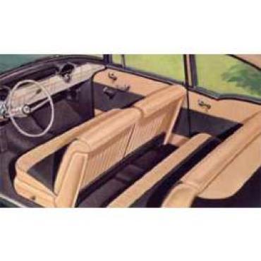 Chevy Preassembled Door & Quarter Interior Panel Kit, 150 2-Door Sedan, 1956