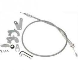 Chevy TV Cable Kit, LS1, LS2, LS3 And LS6 Engines, For 200R4 & 700R4 Transmissions, 1955-1957