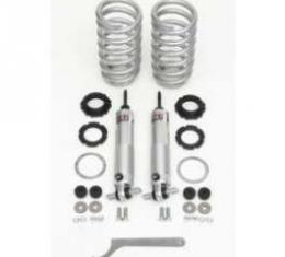 Chevy Front Coil Over Shock Conversion Kit, Big Block, QA1,1955-1957