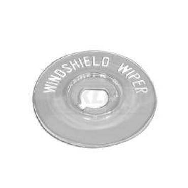 Chevy Windshield Wiper Bezel Insert, Plastic, 150 And 210, 1955-1956
