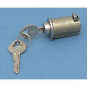 Chevy Glove Box Lock Set, With Factory Style Keys, 1955-1957