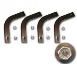 Chevy Control Arm Dust Shield Retainers, 1957