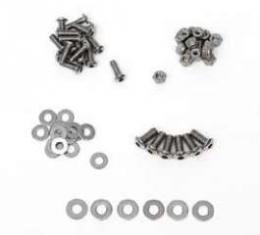 Chevy Radiator Filler Panel Bolt, Washer & Nut Hardware Kit, 1955-1957