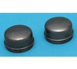 Chevy Front Hub Dust Covers, 1956-1957