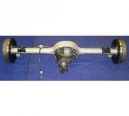 Chevy Rear End, 9, Complete, With 11 Drum Brakes & Stainless Steel Lines, 1955-1957
