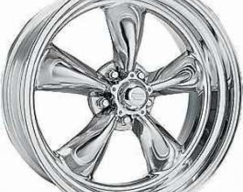 Chevy Torq-Thrust II Wheel, 17 x 7, American Racing