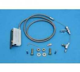 Chevy Kickdown, TVI Cable, Turbo Hydra-Matic (TH400) Automatic Transmission, Lokar, 1955-1957