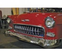 Chevy Grille, Corvette-Style, 1955