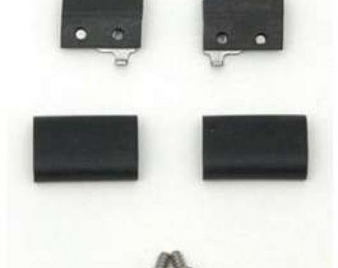 Chevy Gas Door Bumper Set, 1957