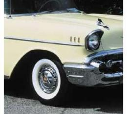 Chevy Tire, 7.50 x 14, B.F. Goodrich Silvertown, With 2/4 Whitewall, 1957